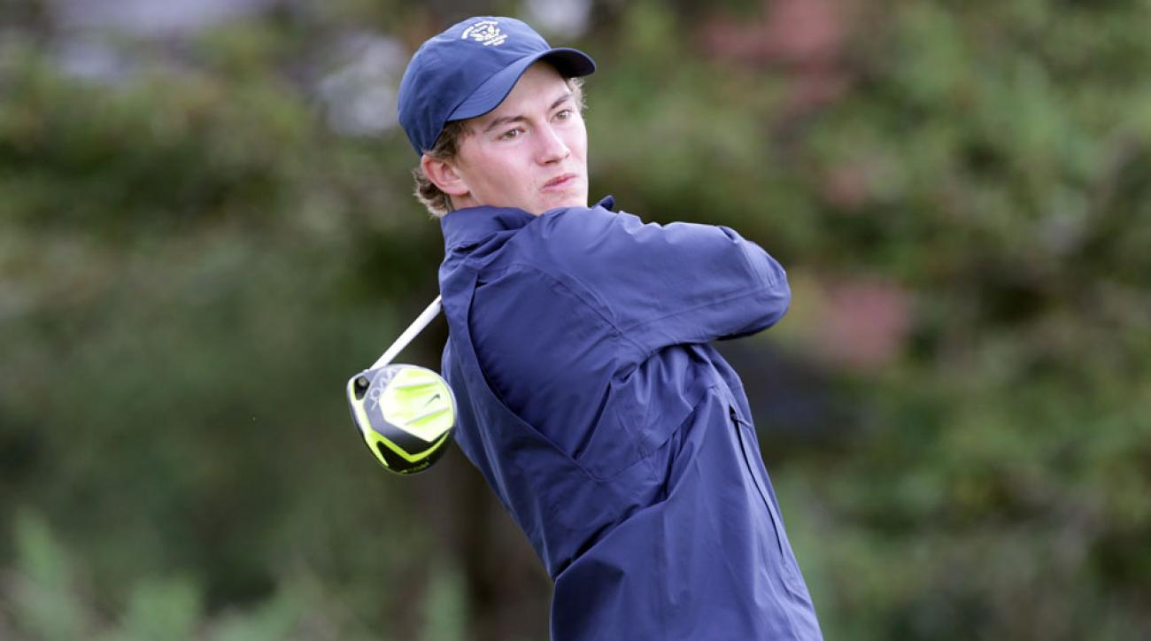 Maverick McNealy recently finished his junior season at Stanford.