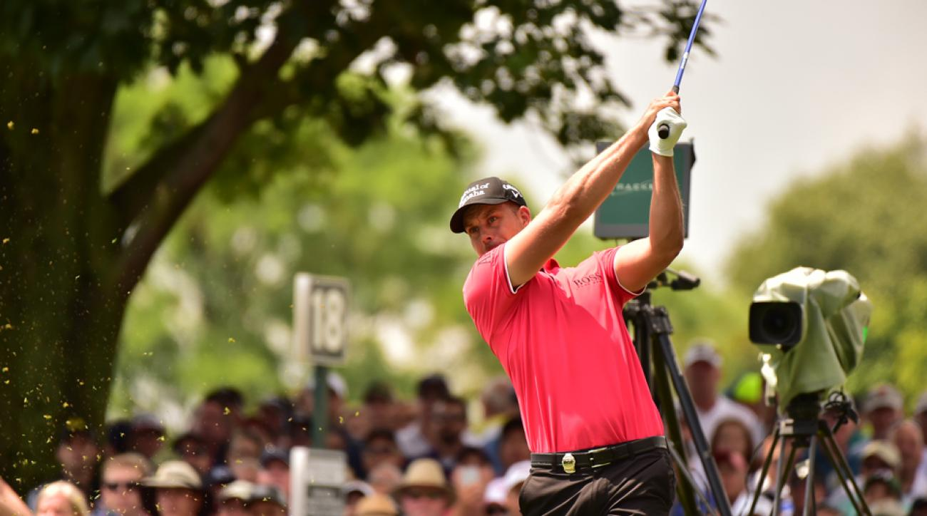 The 40-year-old Swede Henrik Stenson is continuing a streak of dominant play at the PGA Championship this week.