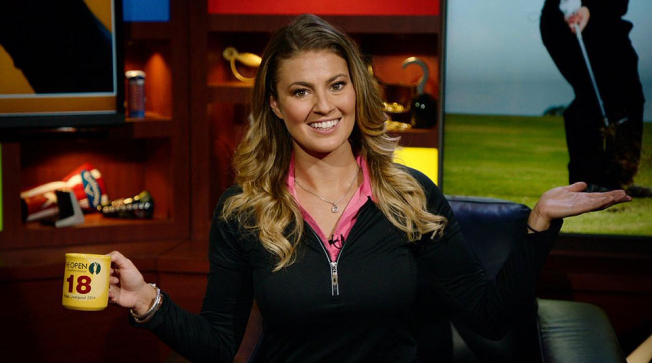 Amanda Balionis is a host for Callaway Golf and is also an on-air reporter this week at the PGA Championship.