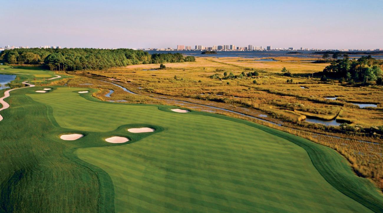 Bayside Resort Golf Club in Selbyville, DE.