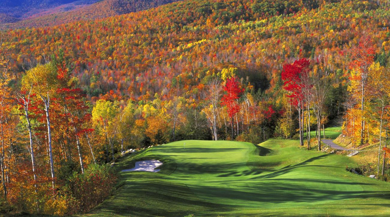 Sunday River Golf Club was designed by Robert Trent Jones Jr.