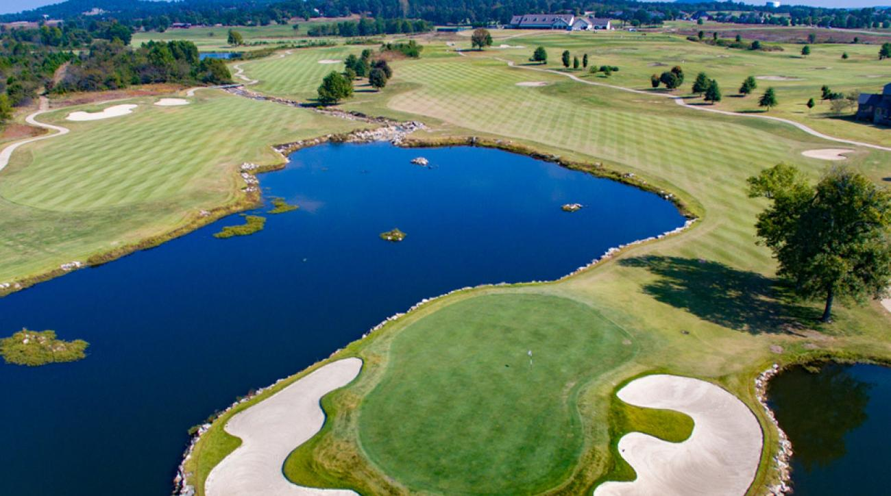 Big Creek Golf Club came in as the third-ranked public course in Arkansas.