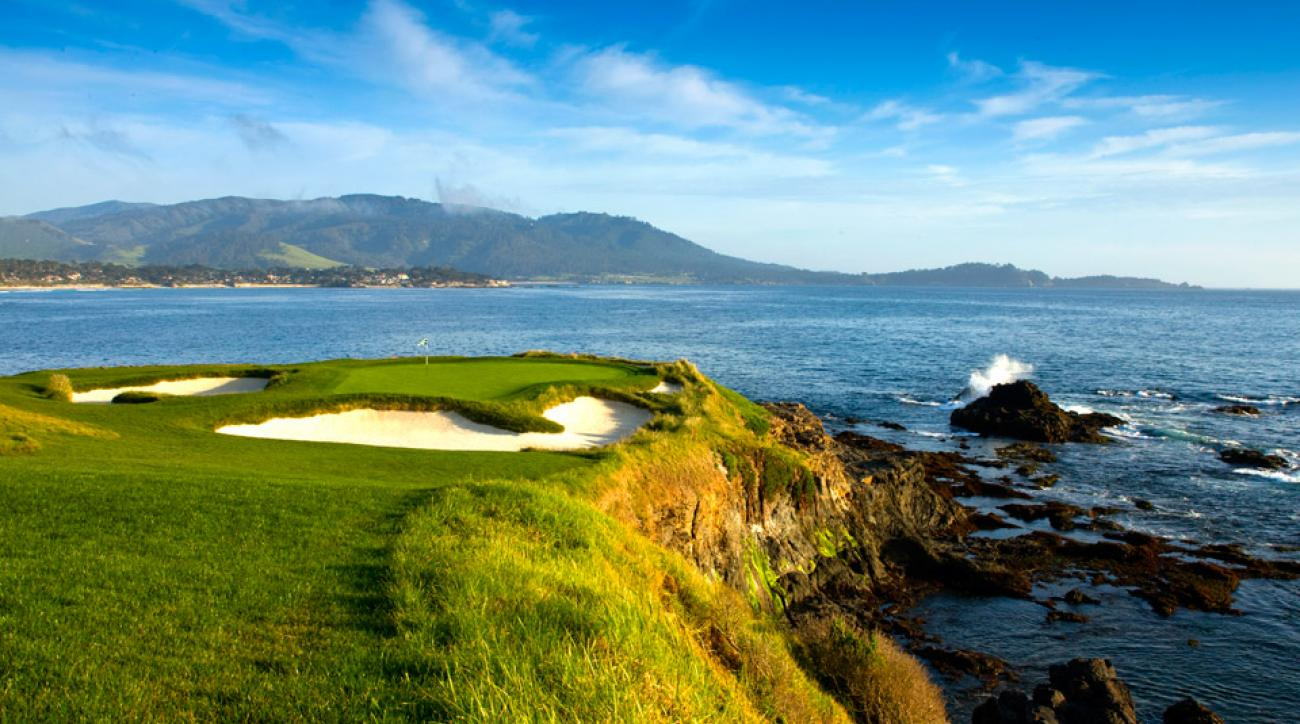 Pebble Beach is the No. 1 ranked public course in the United States.