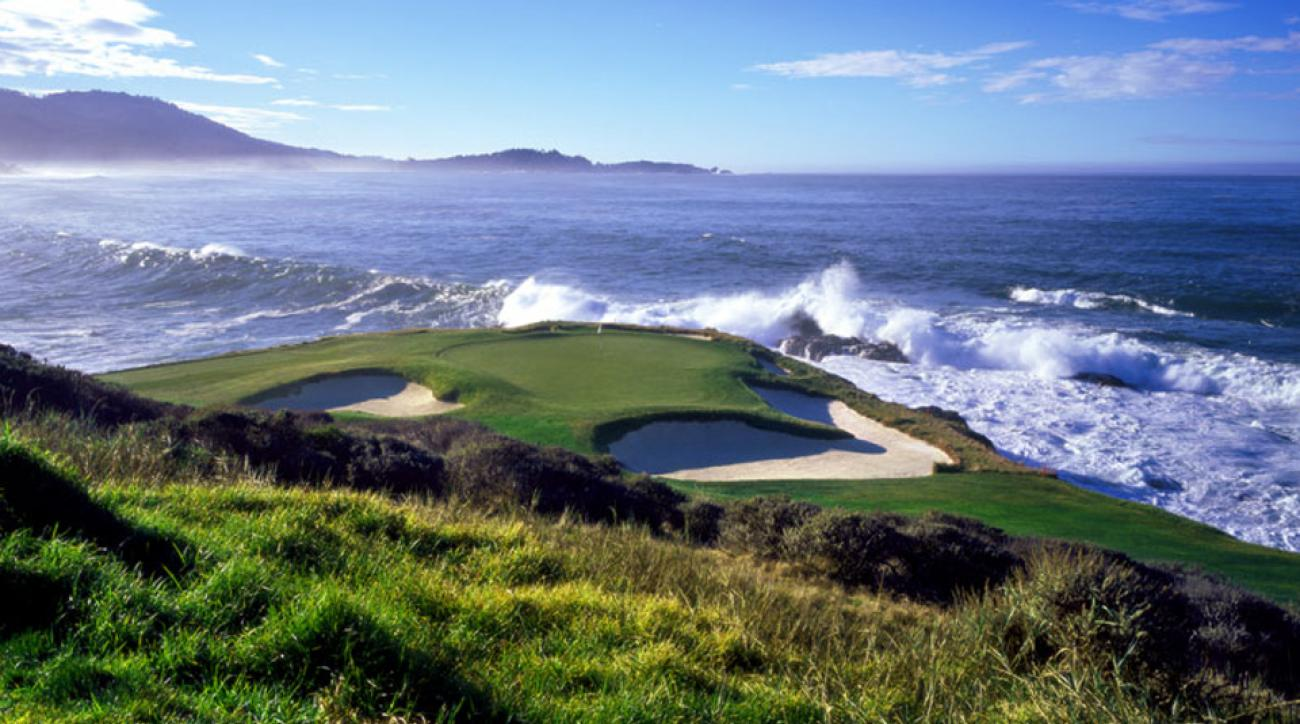 The views at Pebble Beach are some of the best in the world.