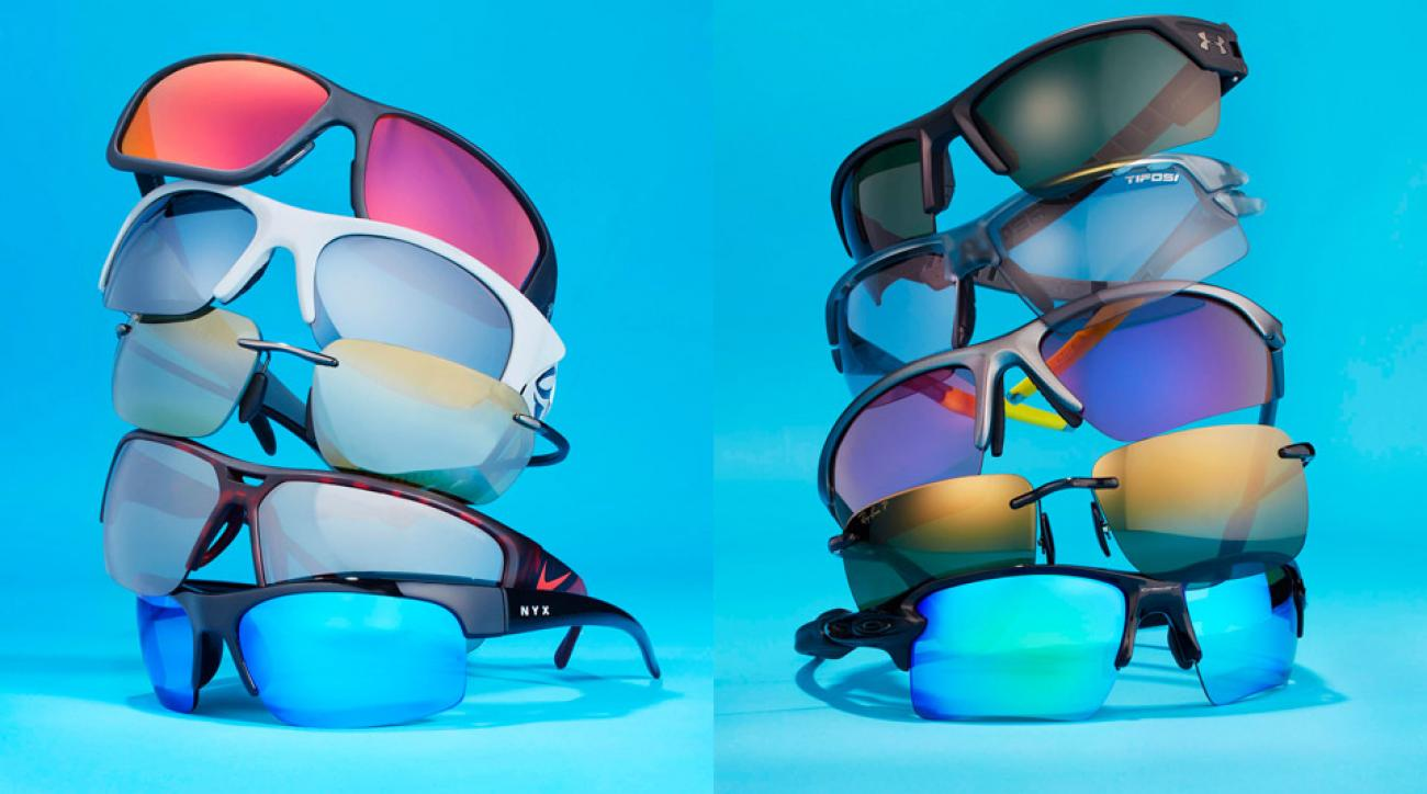 One of these new sets of sunglasses will keep you eyes shielded on the golf course.