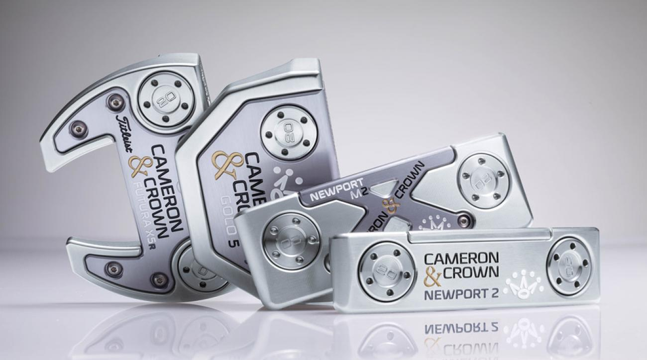 The new Cameron & Crown putters from Scotty Cameron.