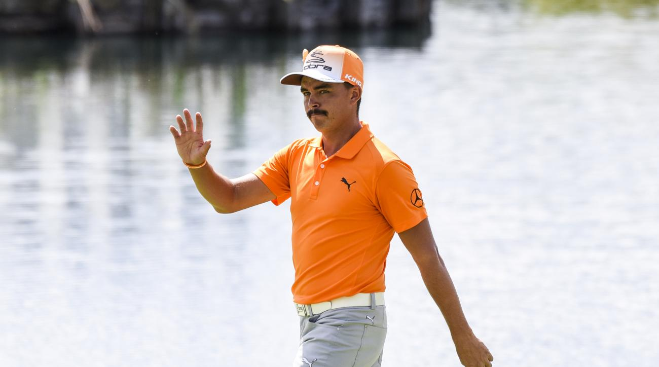 Rickie Fowler is pretty good no matter what club he uses.