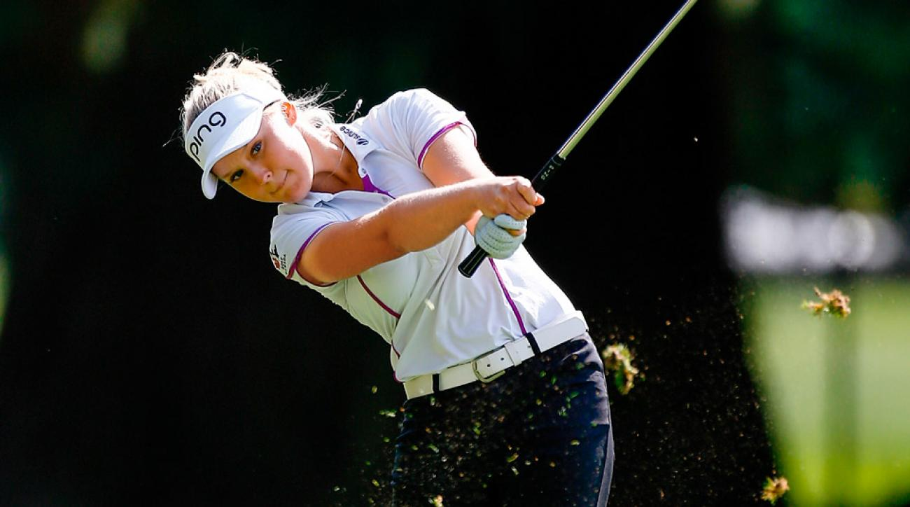 Brooke Henderson won the LPGA Championship in 2016 at just 18 years old.