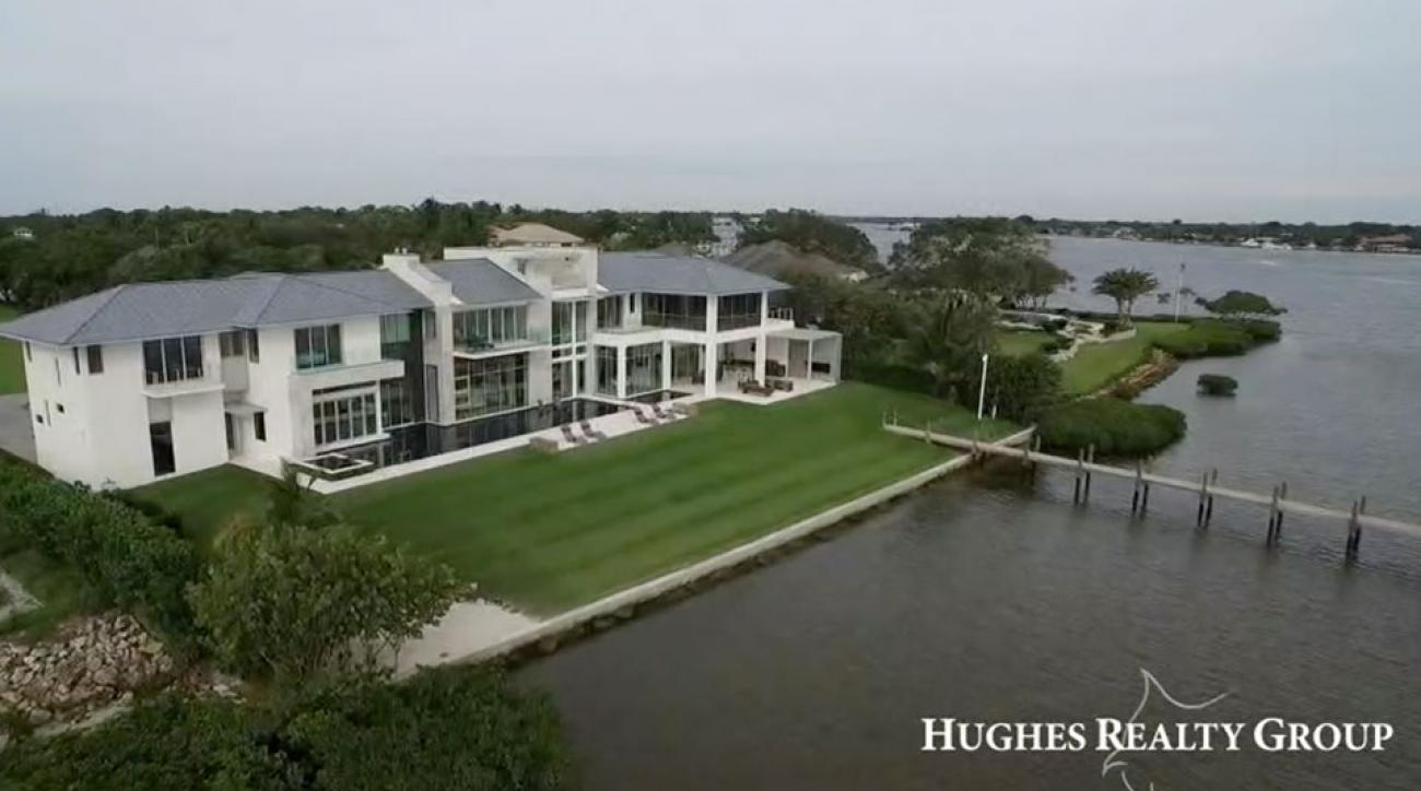 Rickie Fowler Florida waterfront mansion