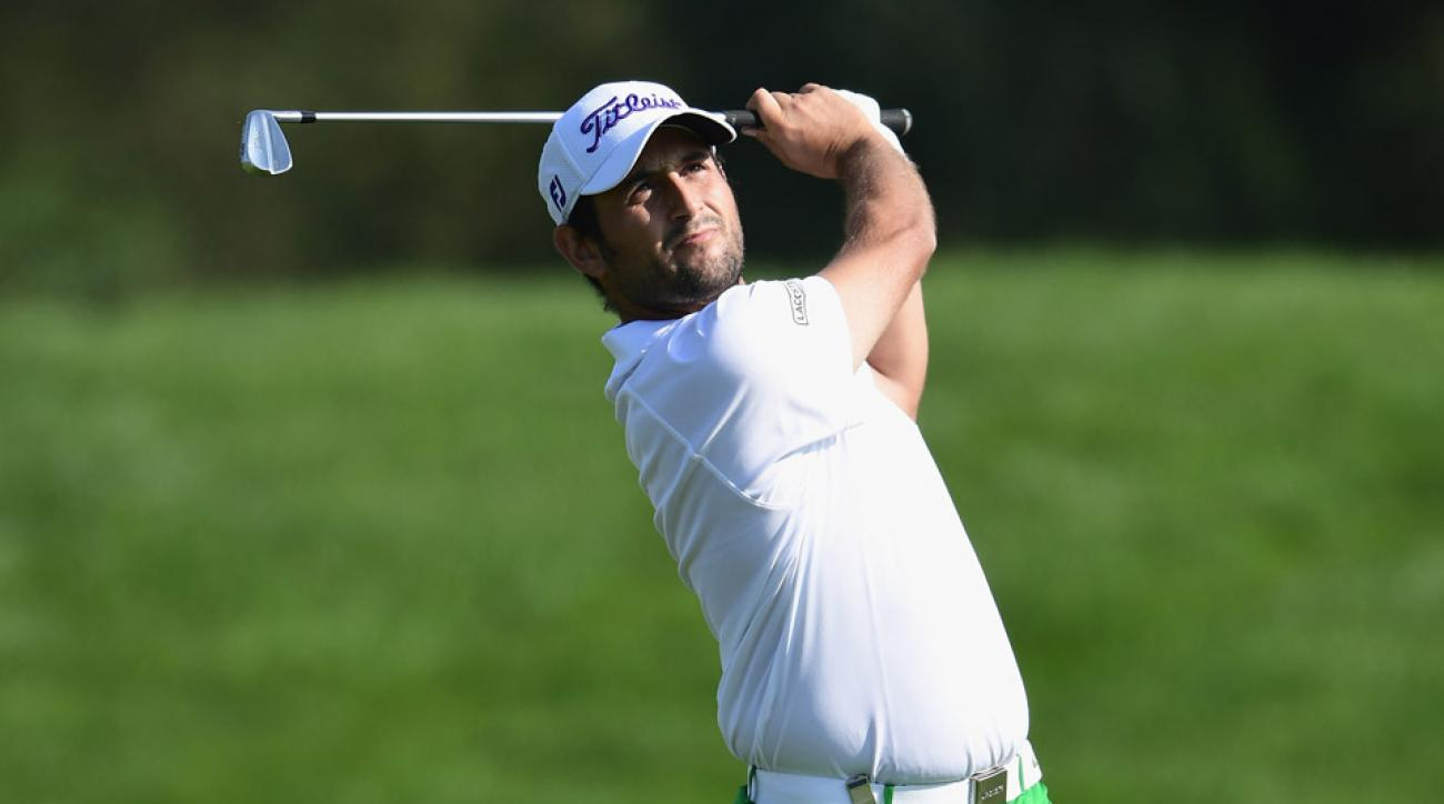 Alexander Levy on Saturday at the European Open.