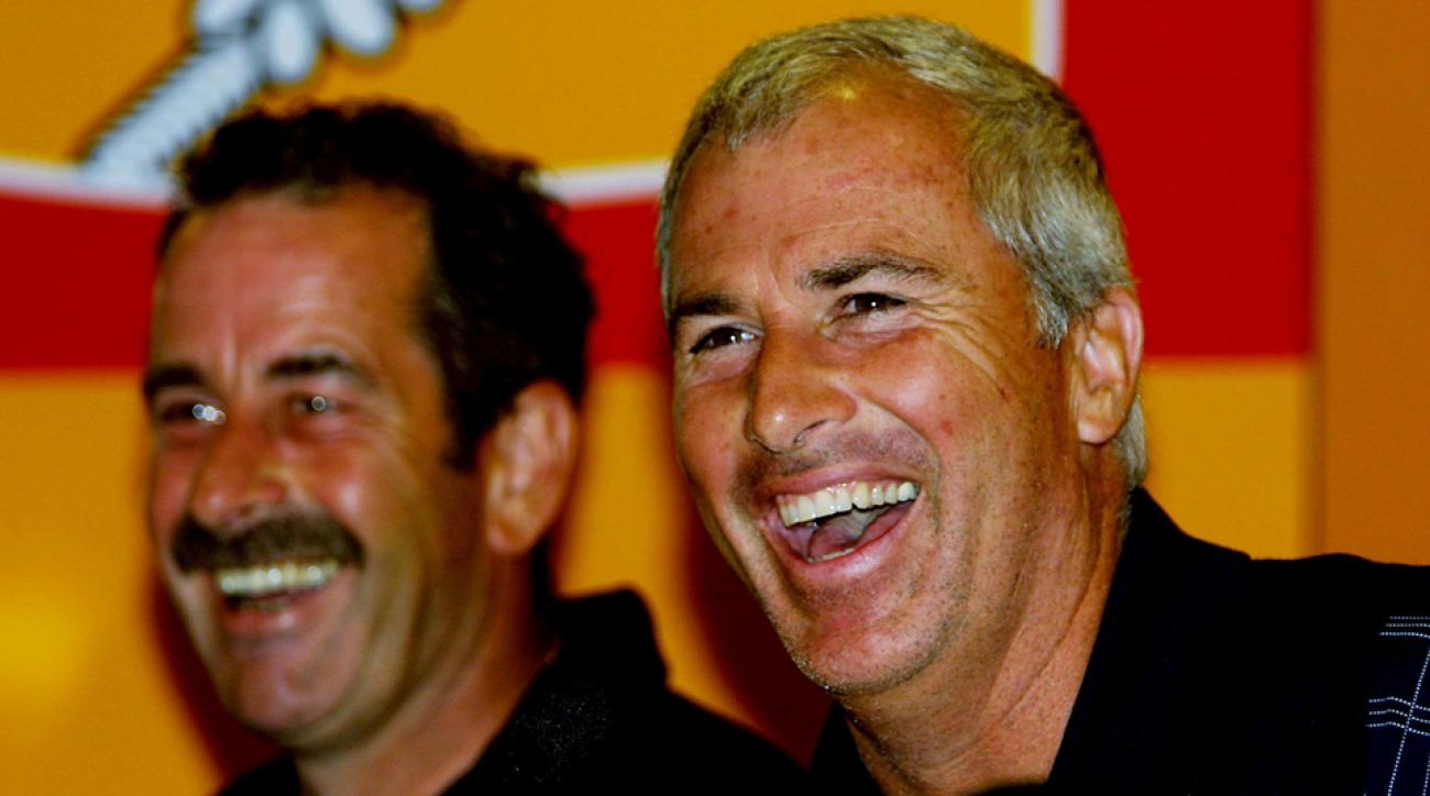 Curtis Strange served as United States captain at the 2002 Ryder Cup. The Europeans won 15.5-12.5.