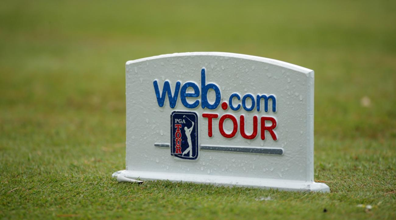 The Web.com Tour season has ended a week early due to Hurricane Matthew.