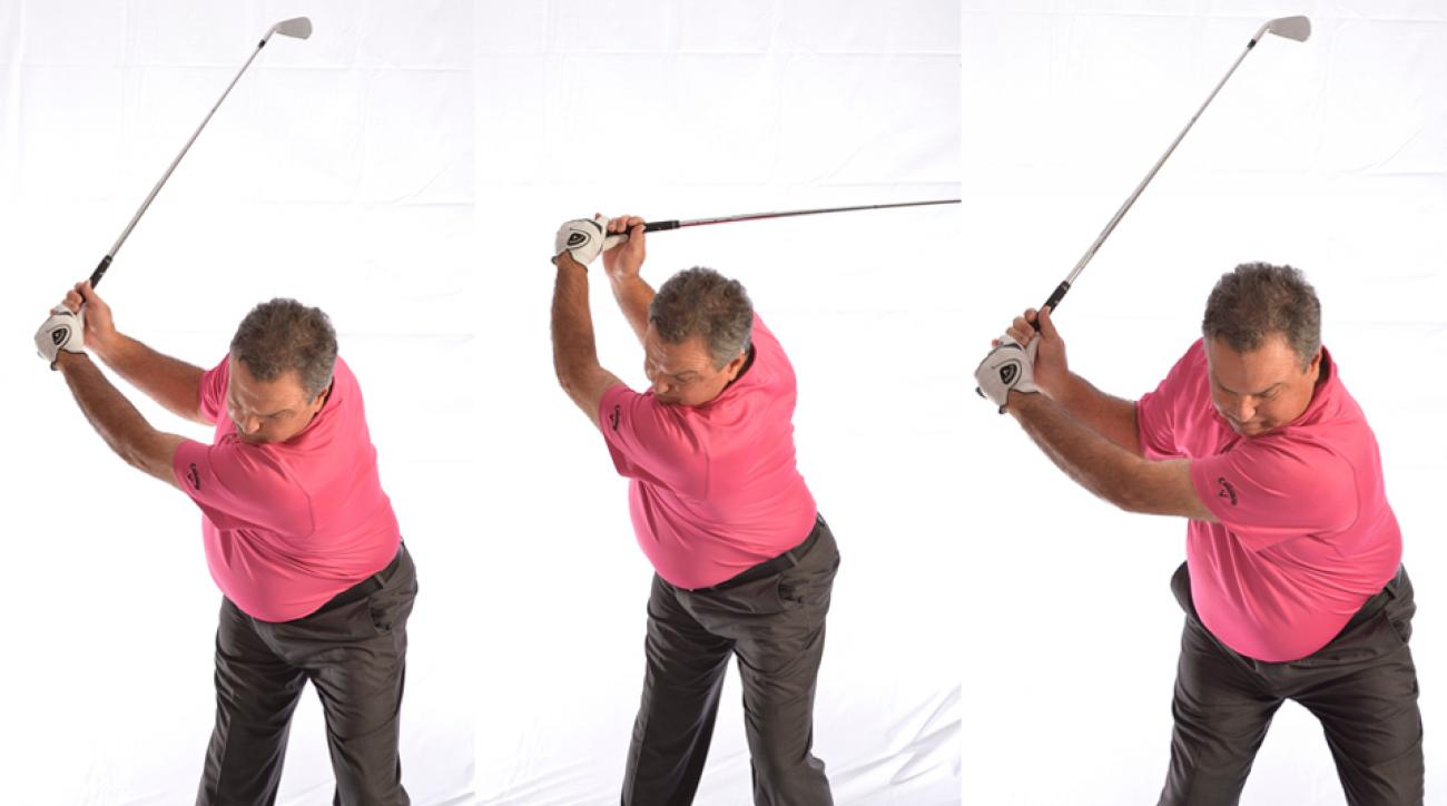 Here is a simple tip to gain more power off the tee.