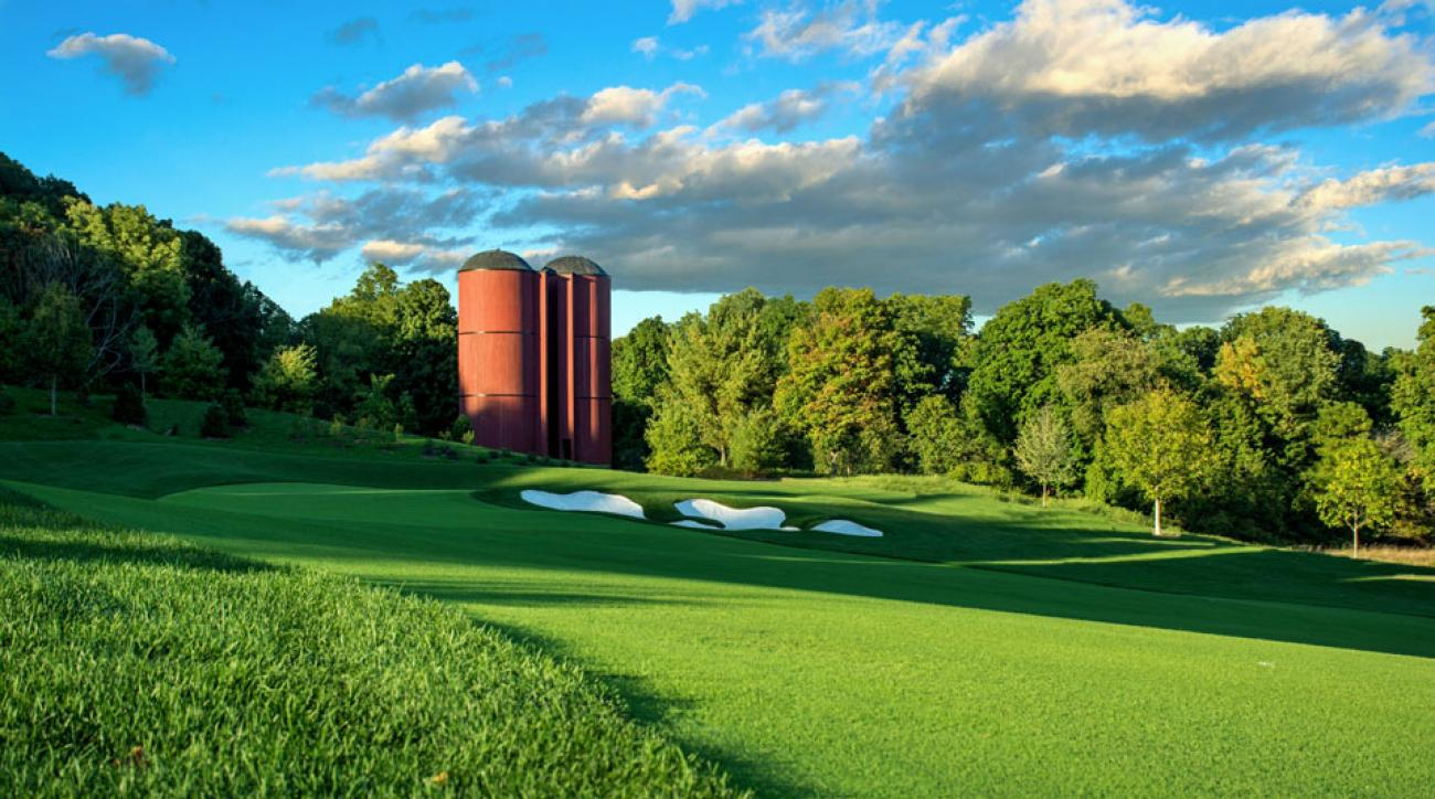 The par-5 third has all the makings of a signature hole.