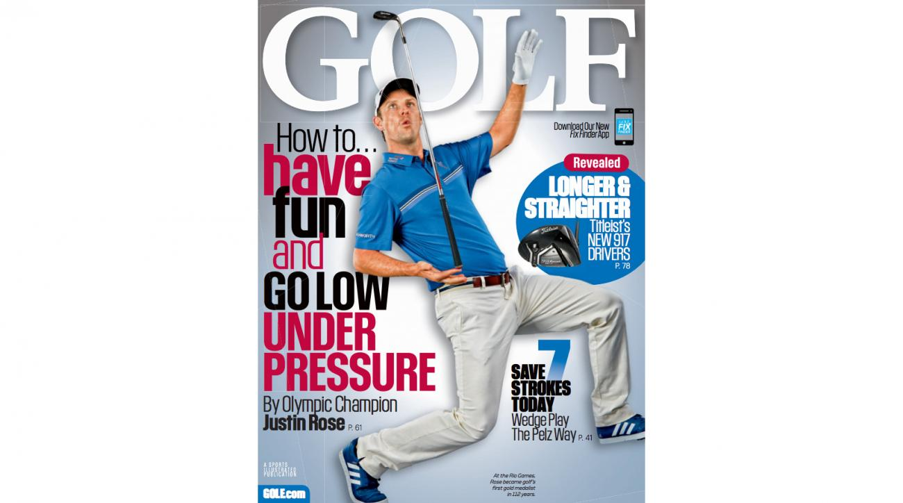 Justin Rose Lands the November Cover of GOLF