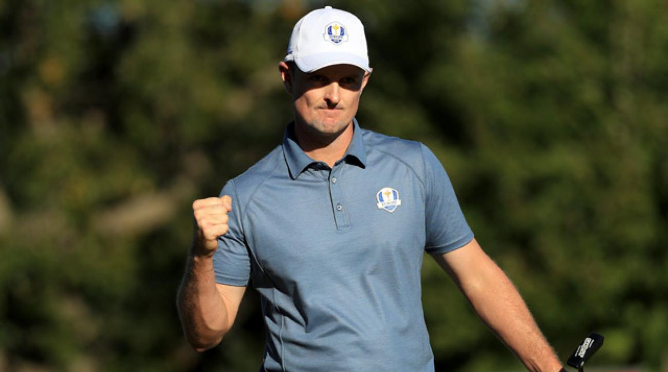 Justin Rose has been a birdie machine in the Ryder Cup.