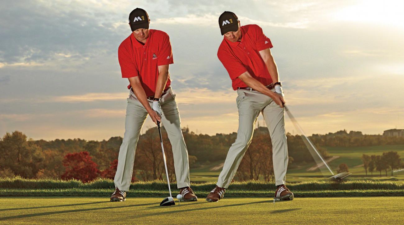 Instructor Eric Johnson demonstrates how to improve your drives.