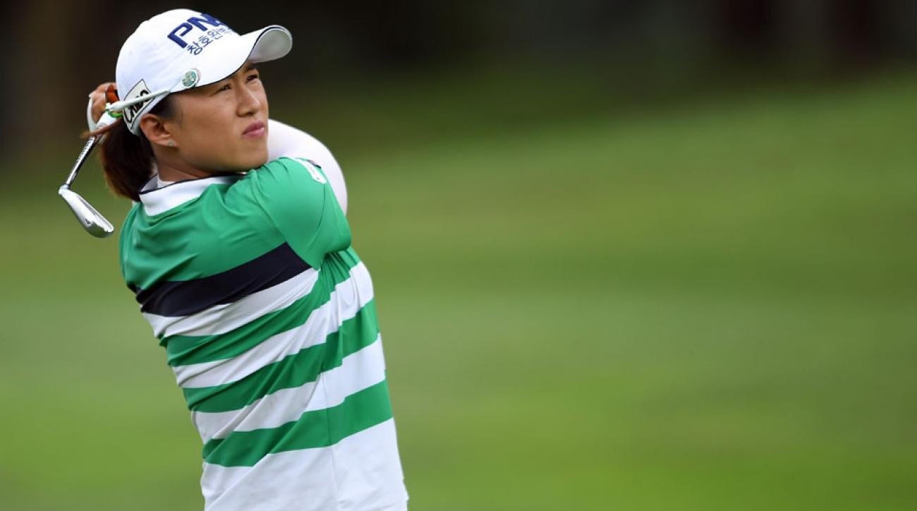 Amy Yang is a two-time winner on the LPGA Tour.
