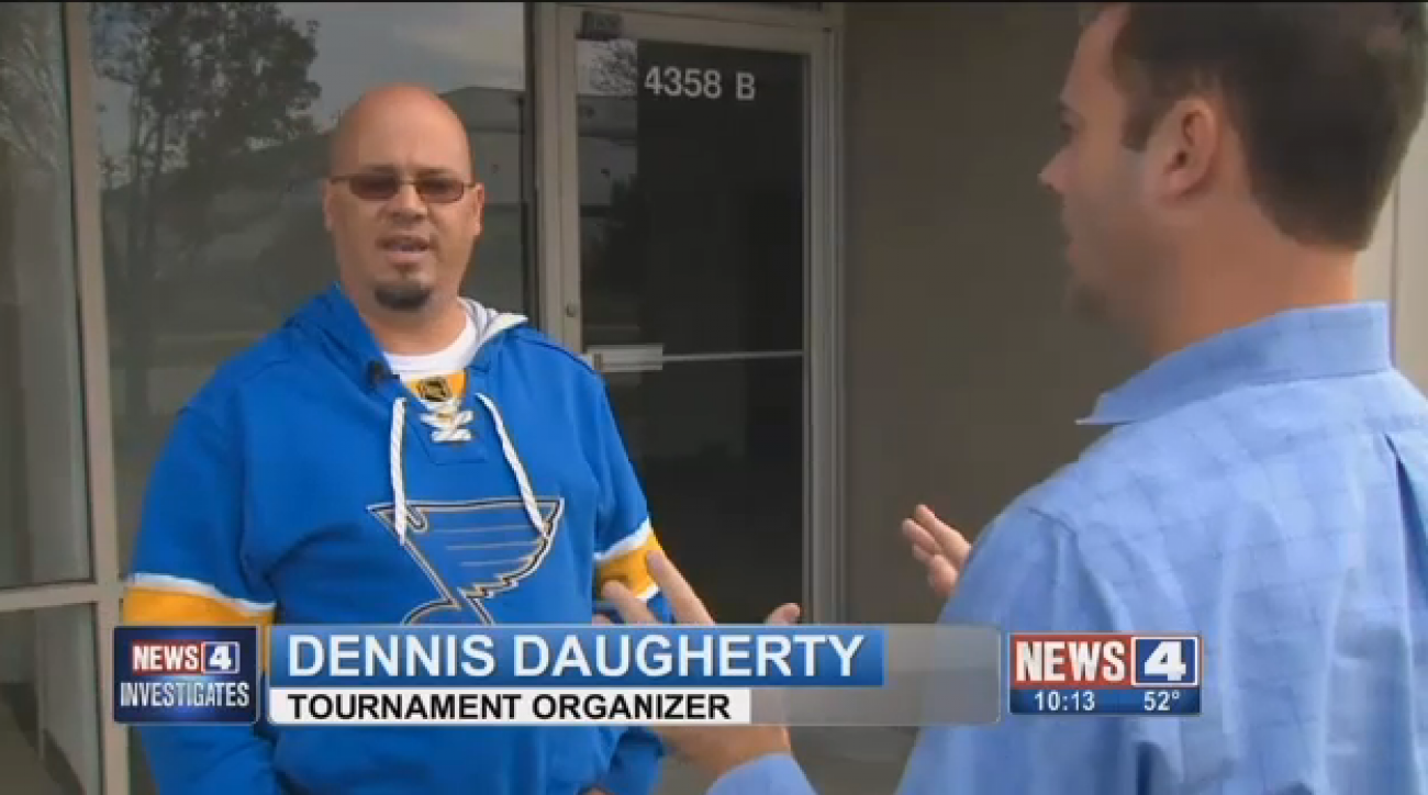 Dennis Daugherty is being charged with deceptive practice after organizing an event billed as charity for Make-A-Wish.
