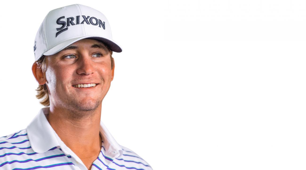 Smylie Kaufman's smile was thrust onto TV screens all over the world when he played in the final pairing at the 2016 Masters.