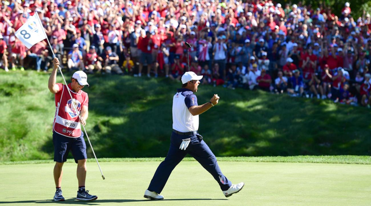 Patrick Reed versus Rory McIlroy at Hazeltine was an epic Ryder Cup match the golf world won't forget soon.