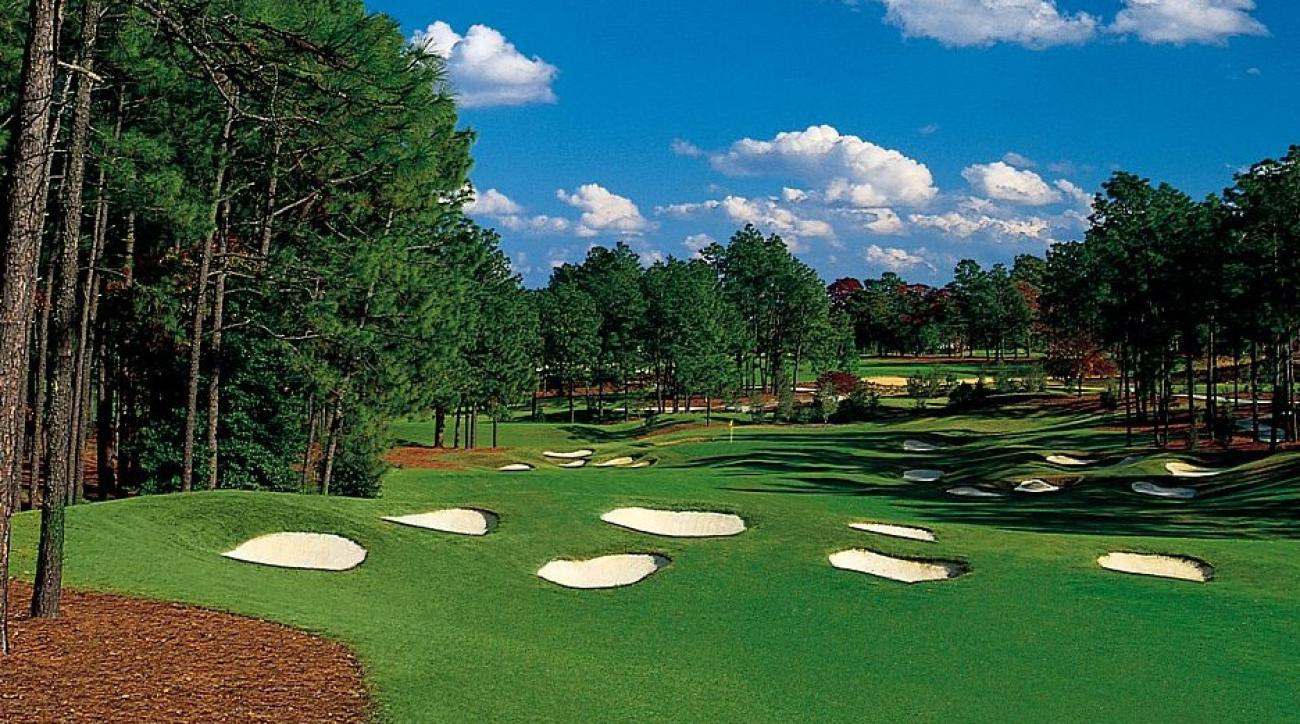 A look at the current No. 4 course at Pinehurst resort.