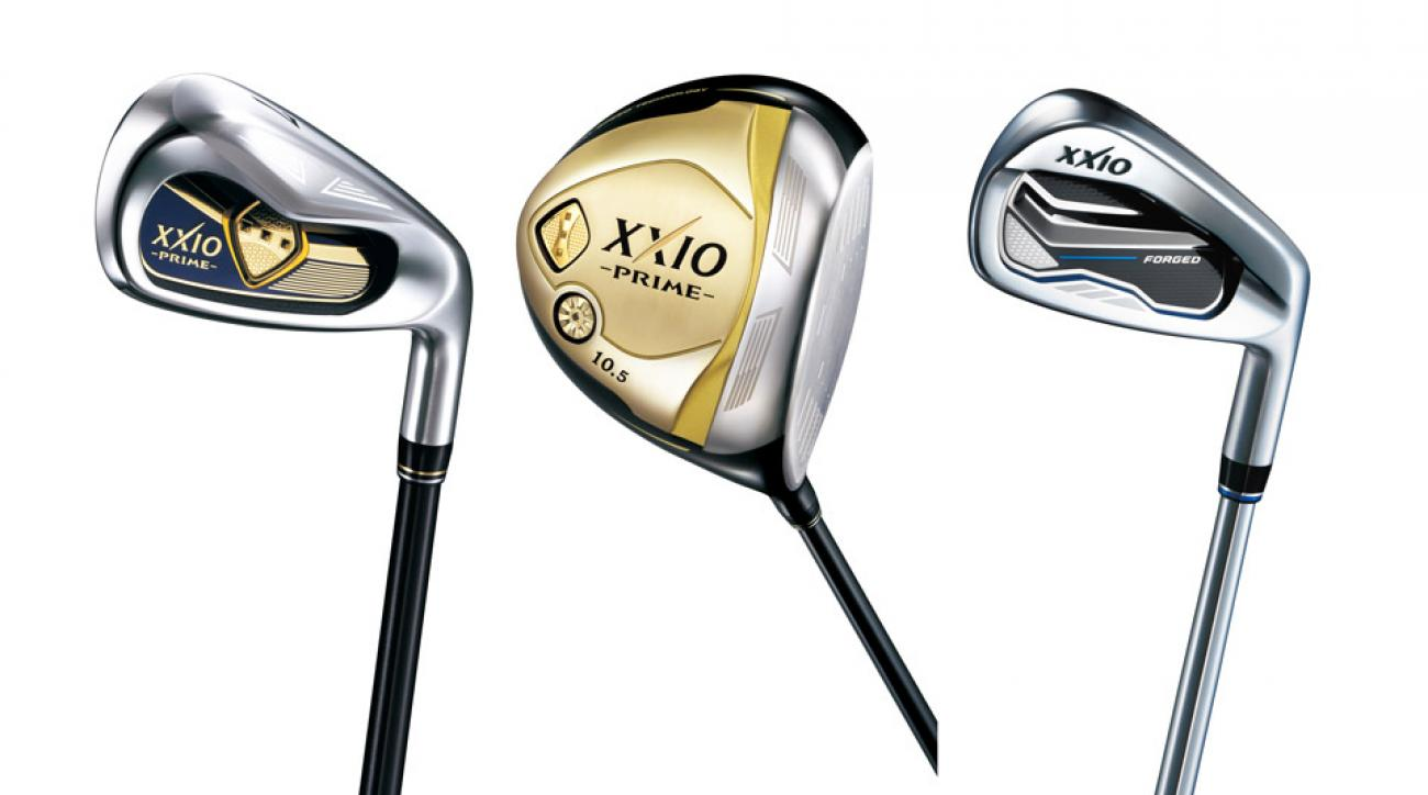 The new XXIO Prime golf clubs and Forged irons.