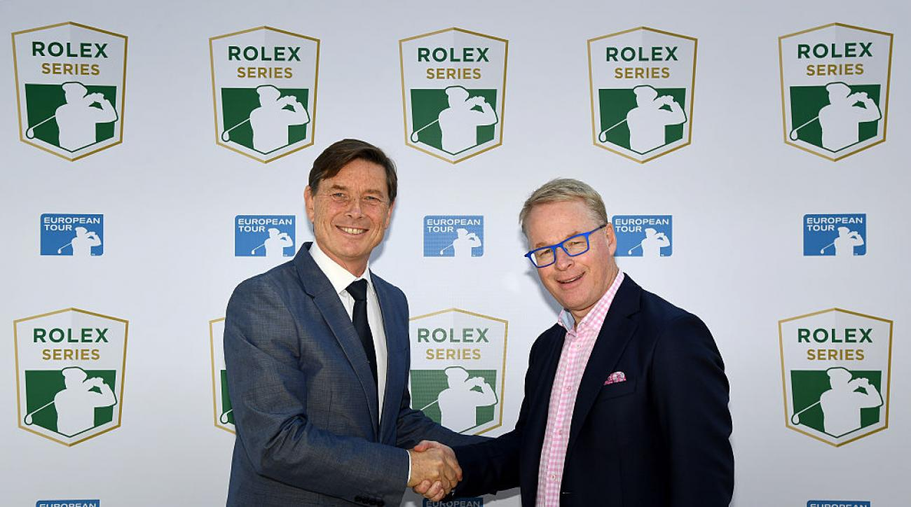 The Rolex Series will include at least seven events to substitute for the Final Series in hopes of better competing with the PGA Tour.