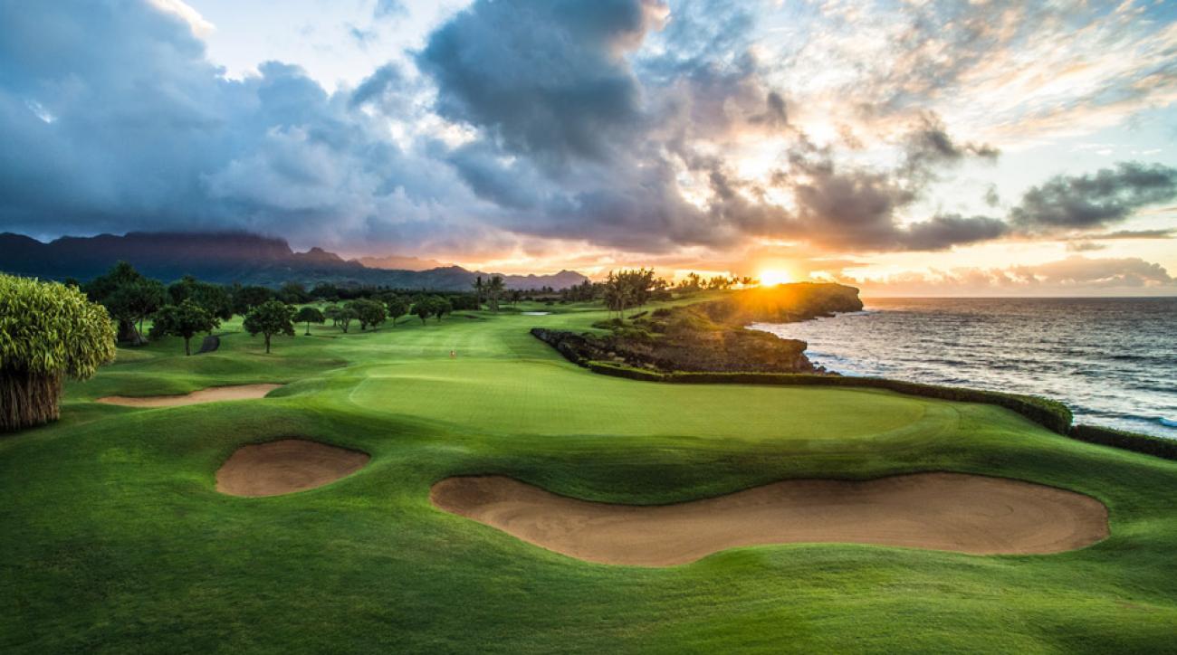 Poipu Bay Golf Course is a must-play on the island of Kauai in Hawaii.