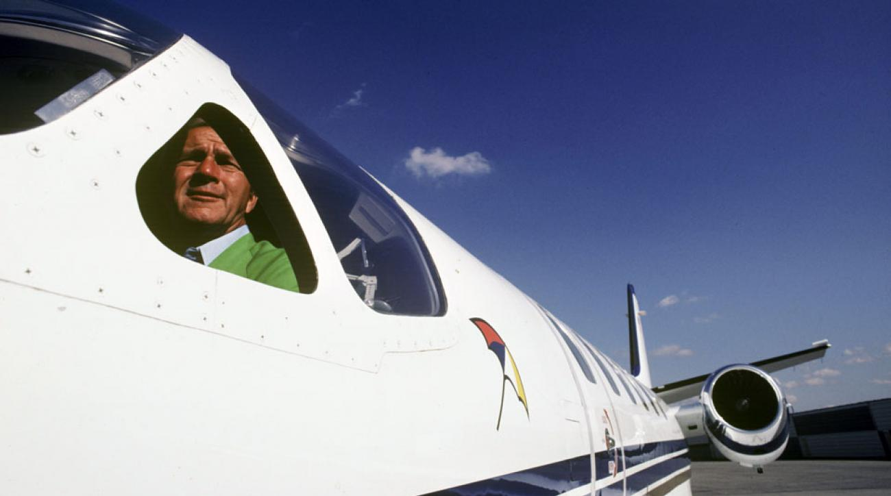 Arnold Palmer, an avid pilot, logged nearly 20,000 hours in the cockpit.