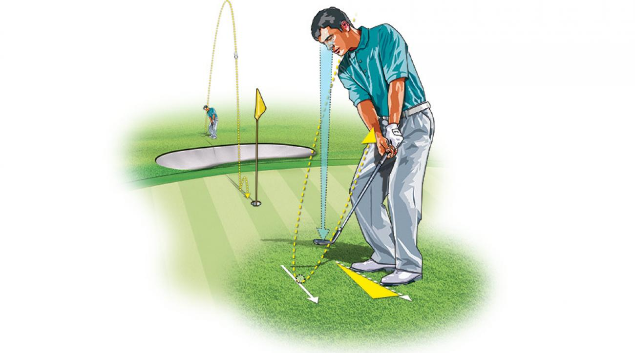 A potent weapon in your short-game arsenal, the flop shot is an easy shot to pull off once you know the basics. The secret is in the clubface: Keep it wide open throughout the swing.
