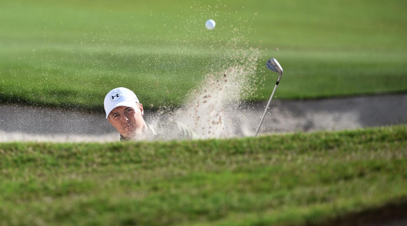 Jordan Spieth won the Australian Open in 2014 with a final-round 63.