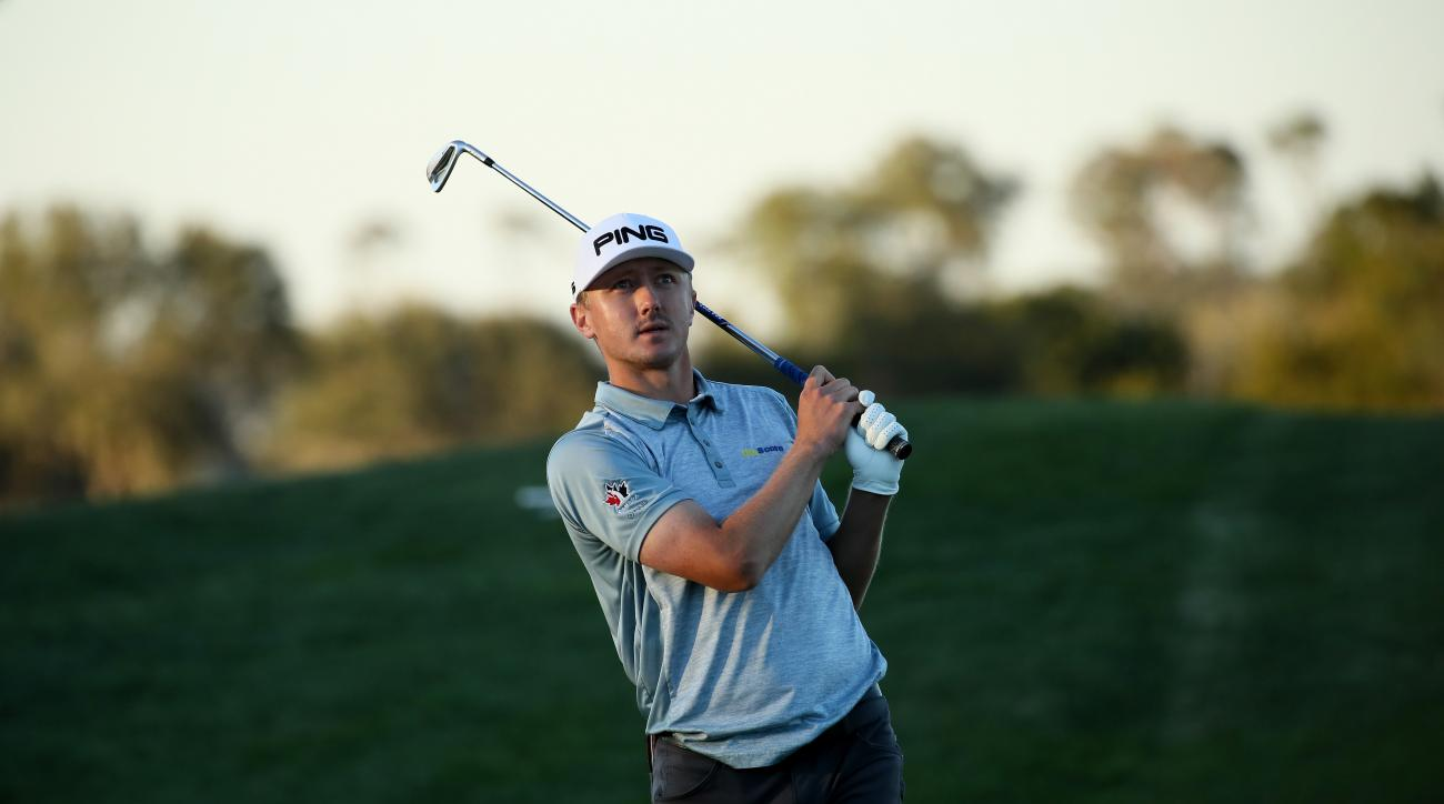 PGA Tour rookie Mackenzie Hughes won the RSM Classic for his first career win.