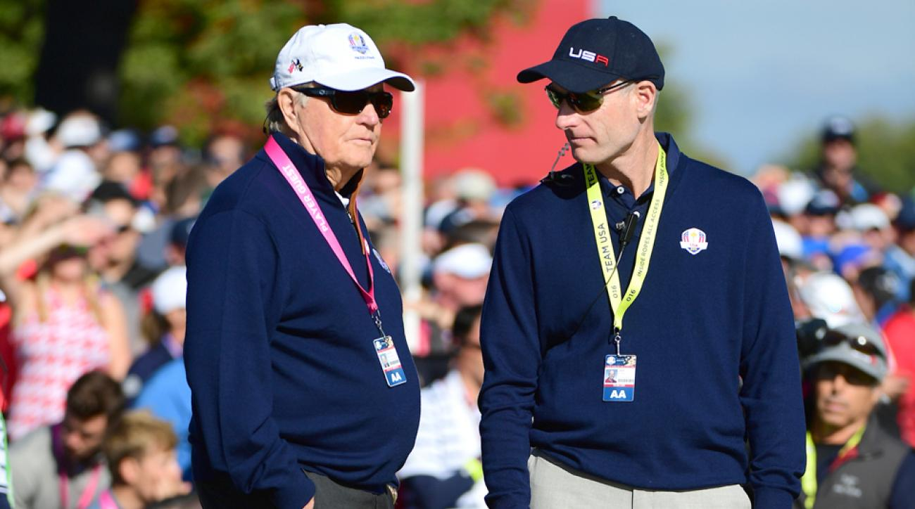 Jim Furyk says he would accept the job as Ryder Cup captain if he was asked.