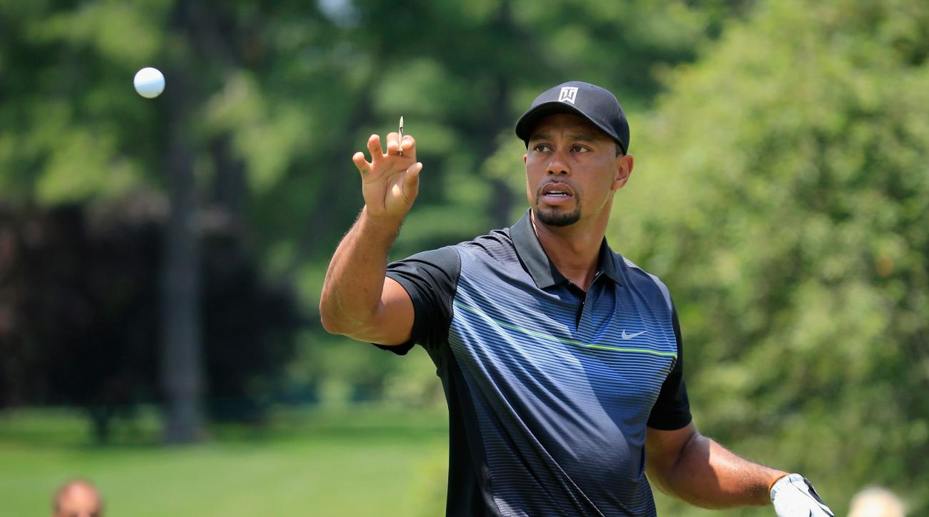 Report: Tiger Woods to play Bridgestone golf balls at the Hero World Challenge.
