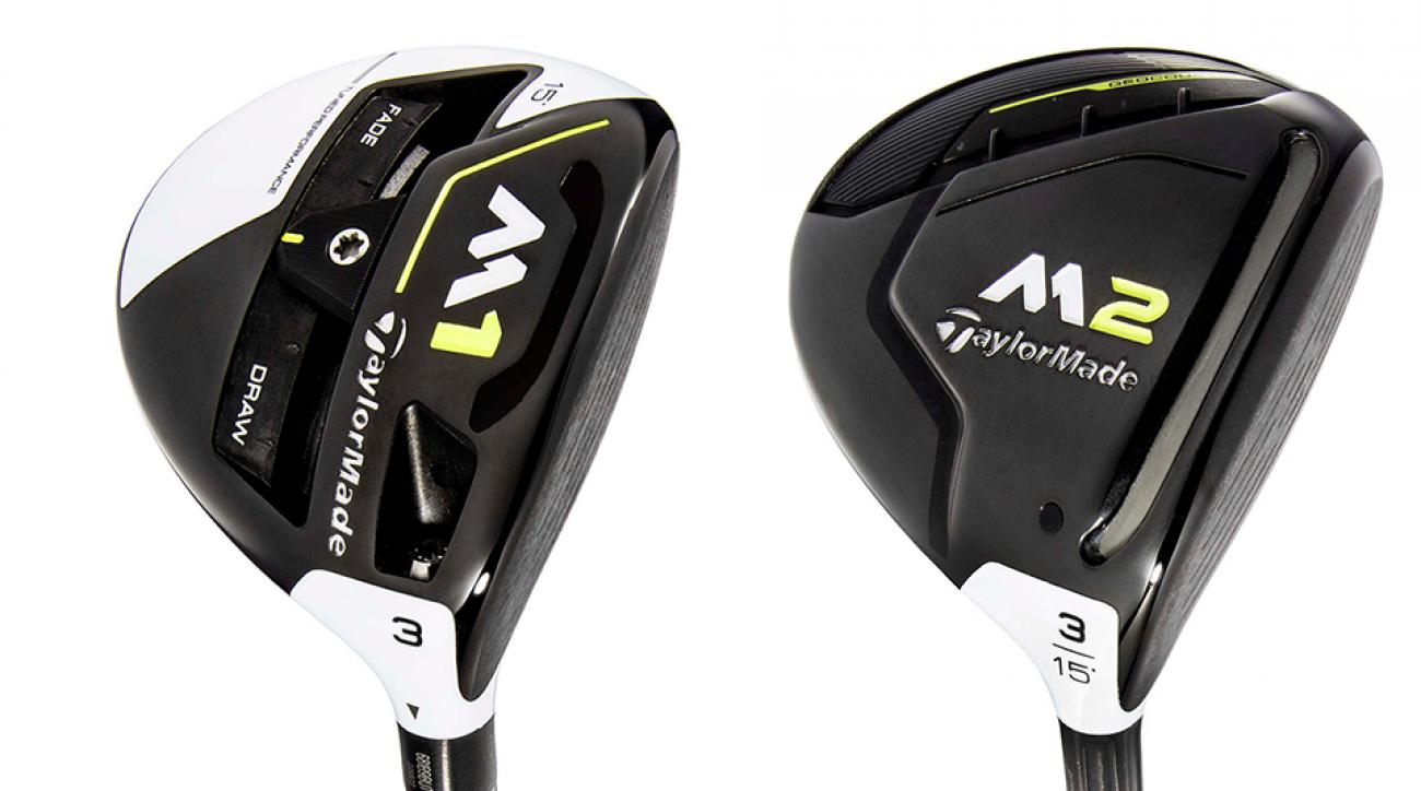 The new TaylorMade M1 and M2 fairway woods.