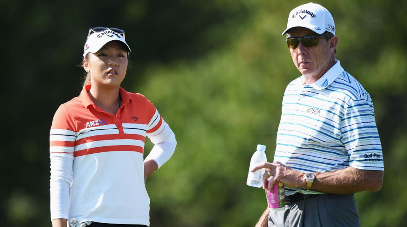 Lydia Ko worked with David Leadbetter for three years.