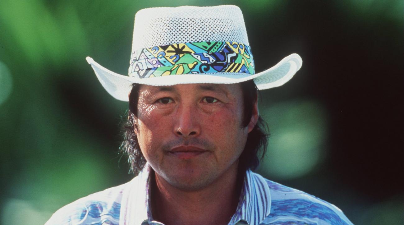 Jumbo Ozaki at the 1995 PGA Championship.
