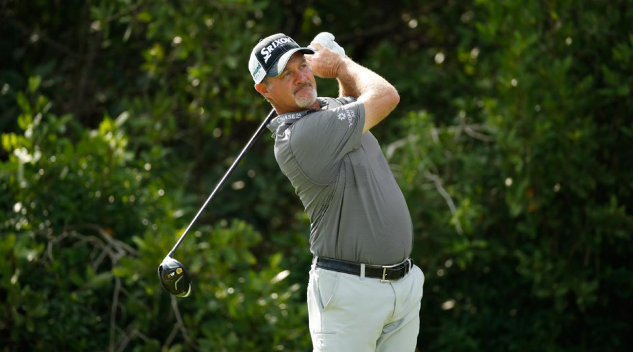 Jerry Kelly pictured here at the OHL Classic at Mayakoba.