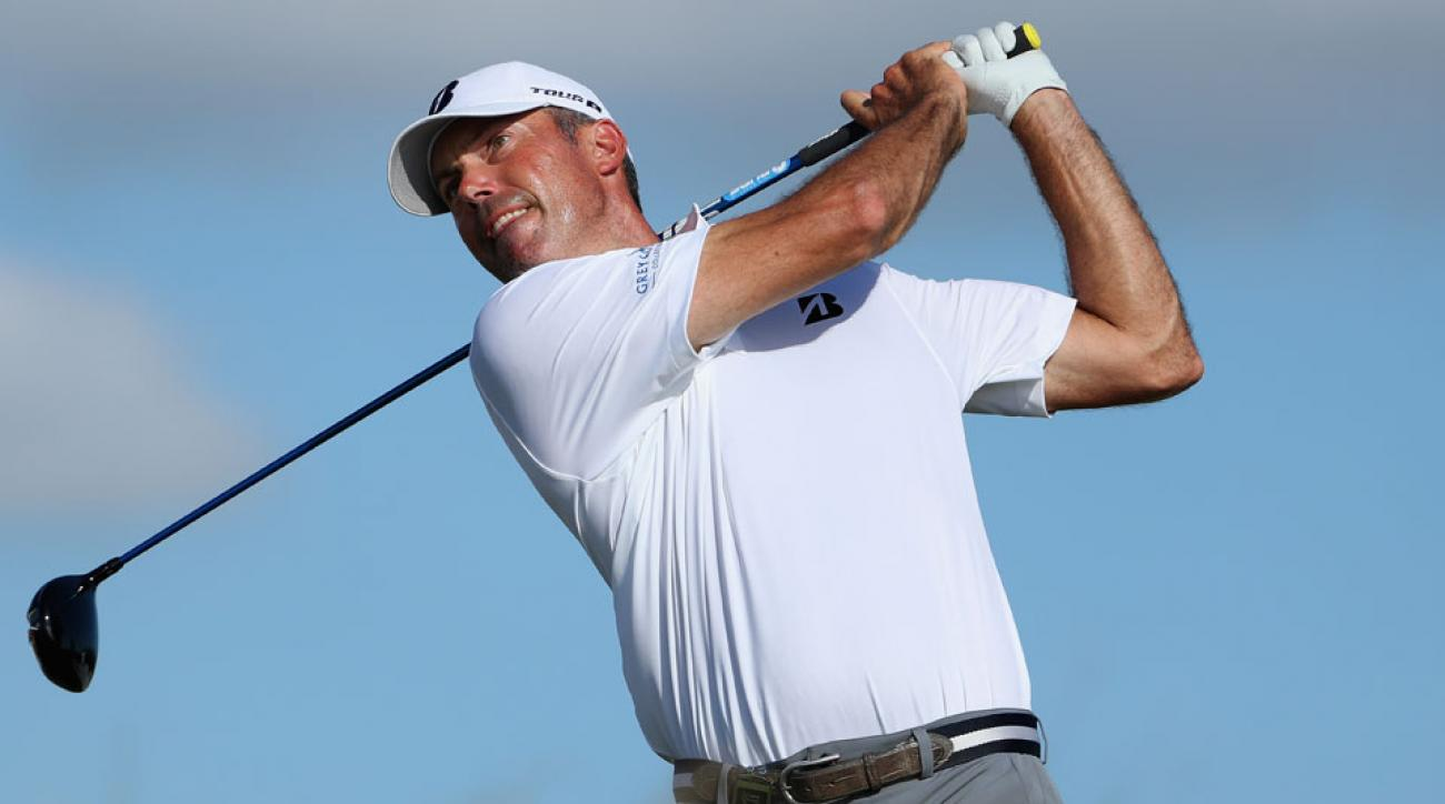 Matt Kuchar won the Franklin Templeton Shootout alongside Harris English in 2013.