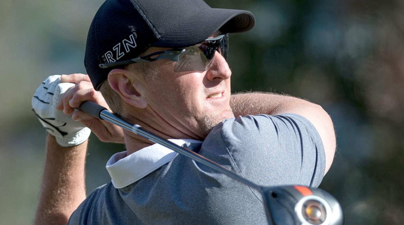 David Duval and stepson Nick Karavites won the PNC Father/Son Challenge on Sunday.