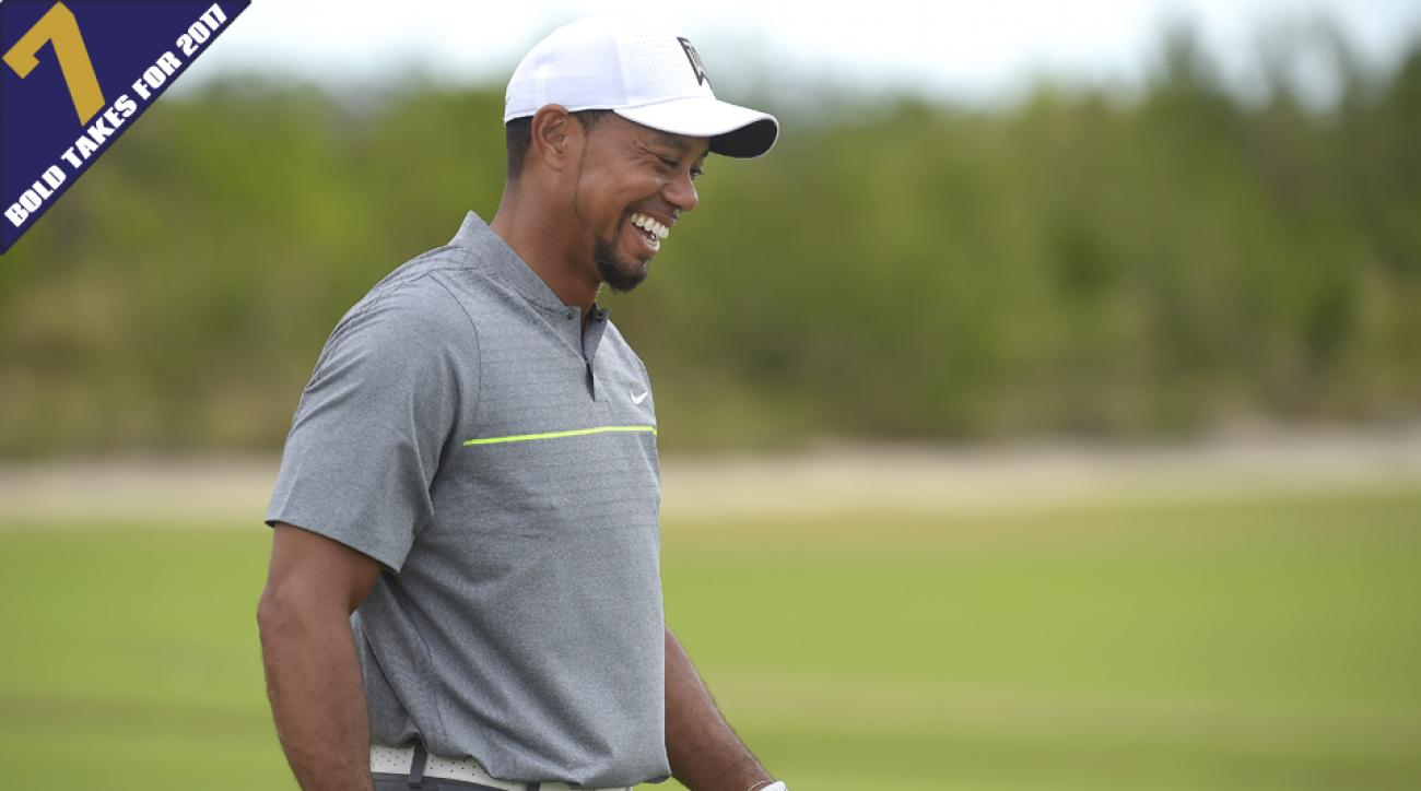 How much progress will Tiger Woods make in 2017?