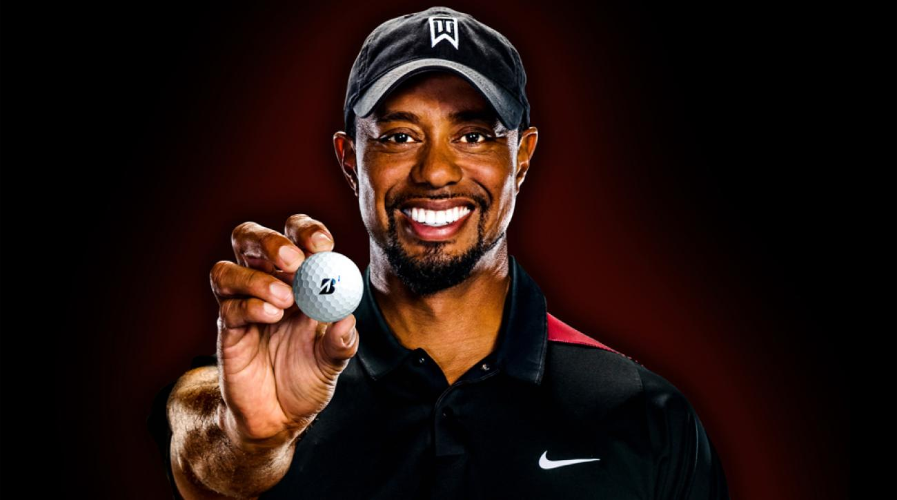 Woods is currently committed to playing Bridgestone's Tour B330-S ball.