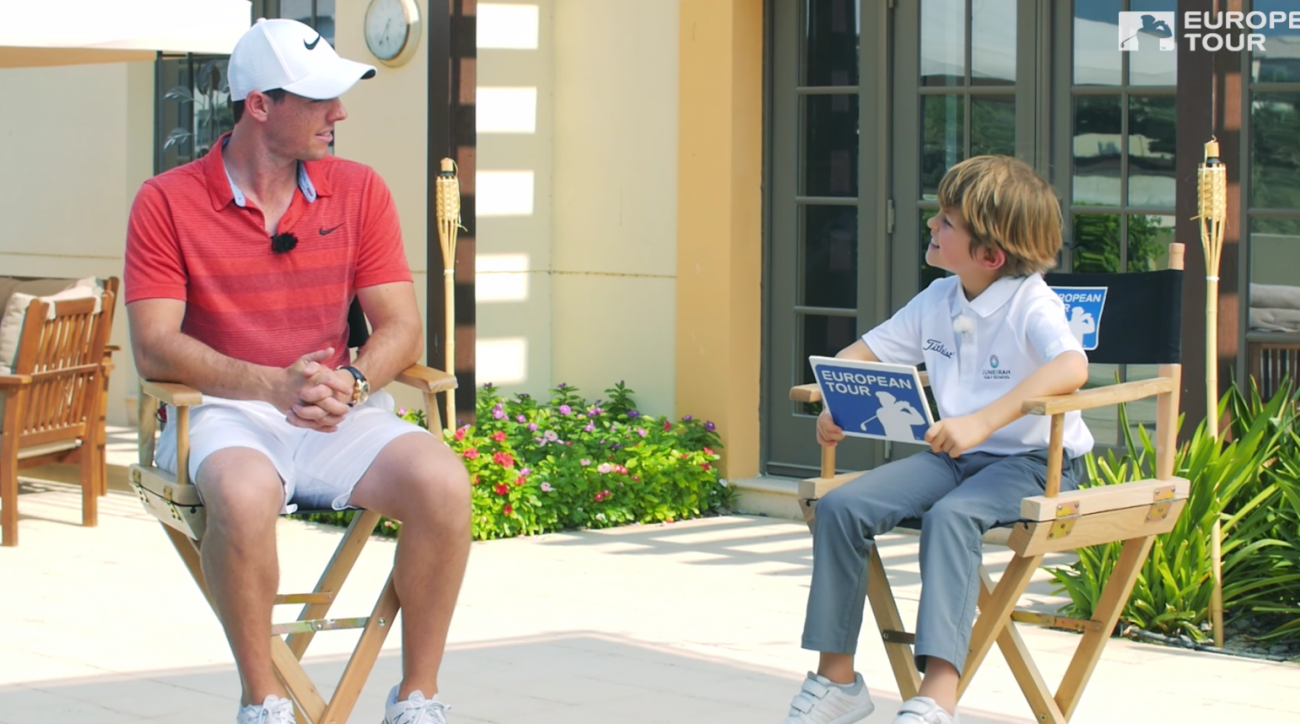 Rory's big-time Little Interview was one of the most viral videos of the year.