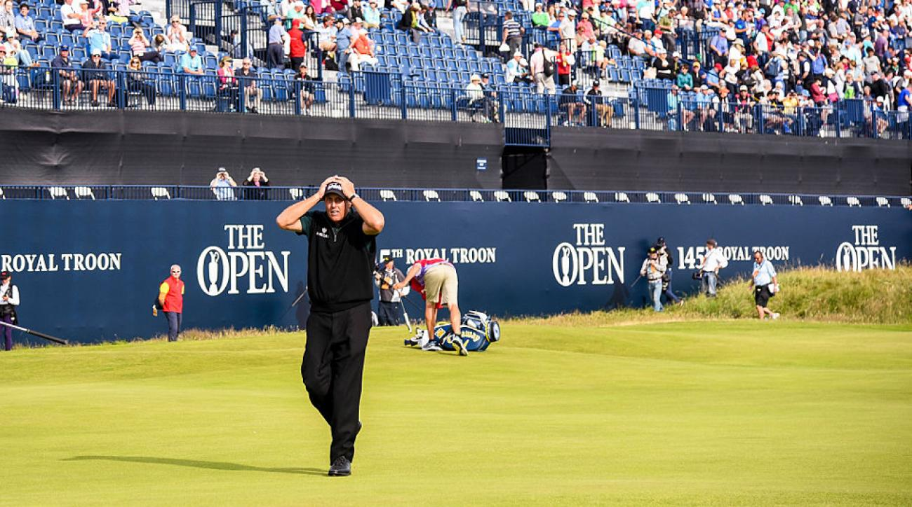 Phil Mickelson's heartbreak on the final green at Royal Troon at the 2016 British Open was as close as we've been to seeing a 62 at a major.