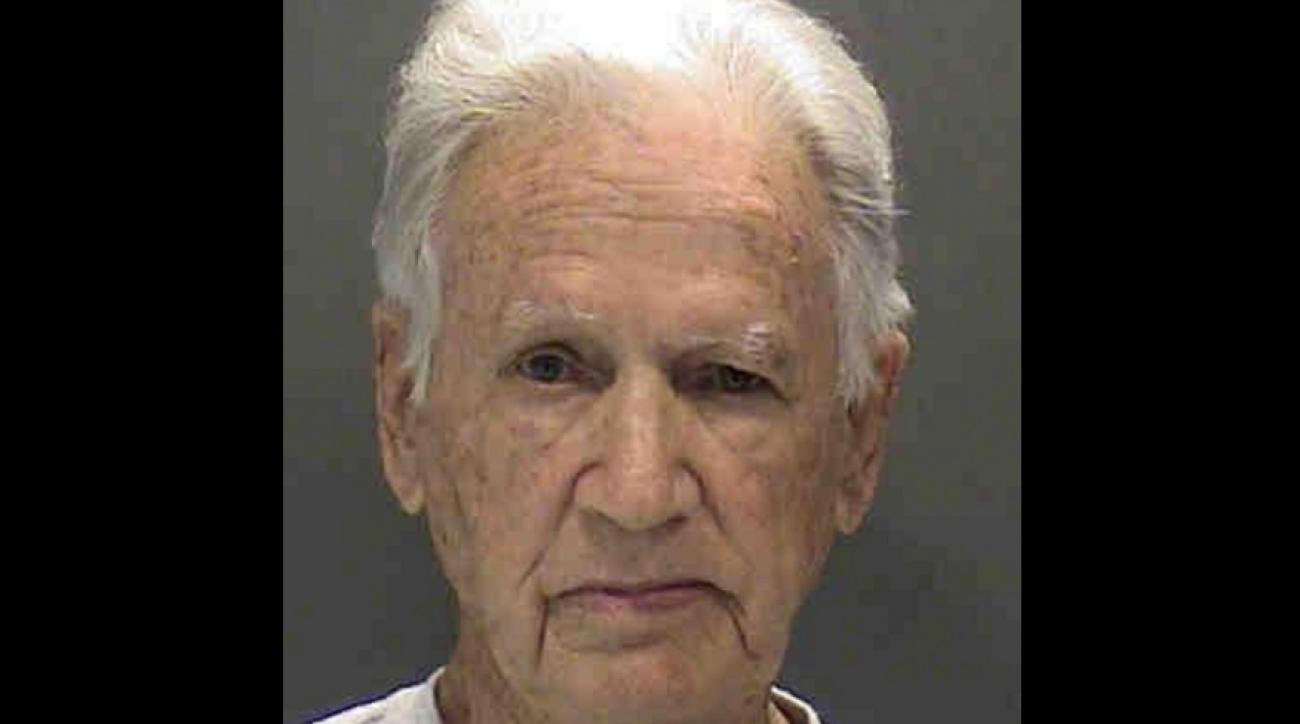 Linsey Owens, 83, has been charged with battery for attacking a car salesman with a golf club.