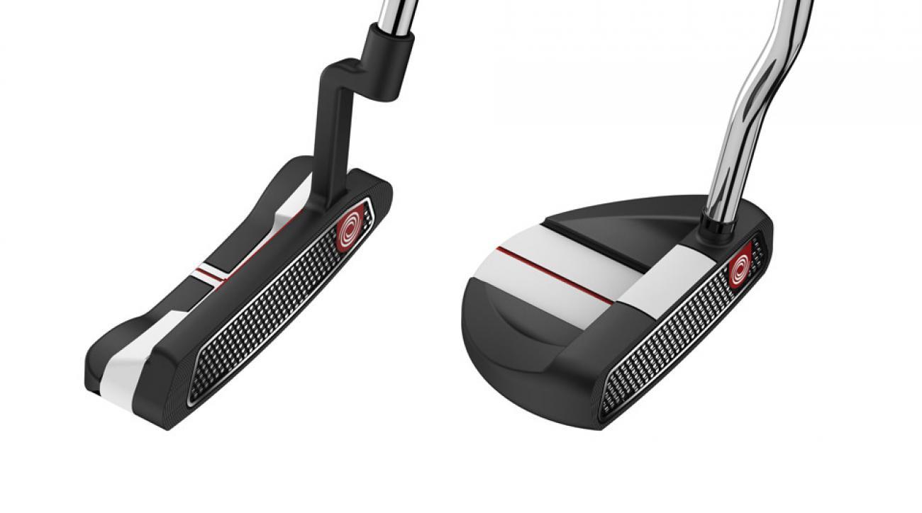 Left: Odyssey O-Works #1 putter; Right: Odyssey O-Works R-Line putter.