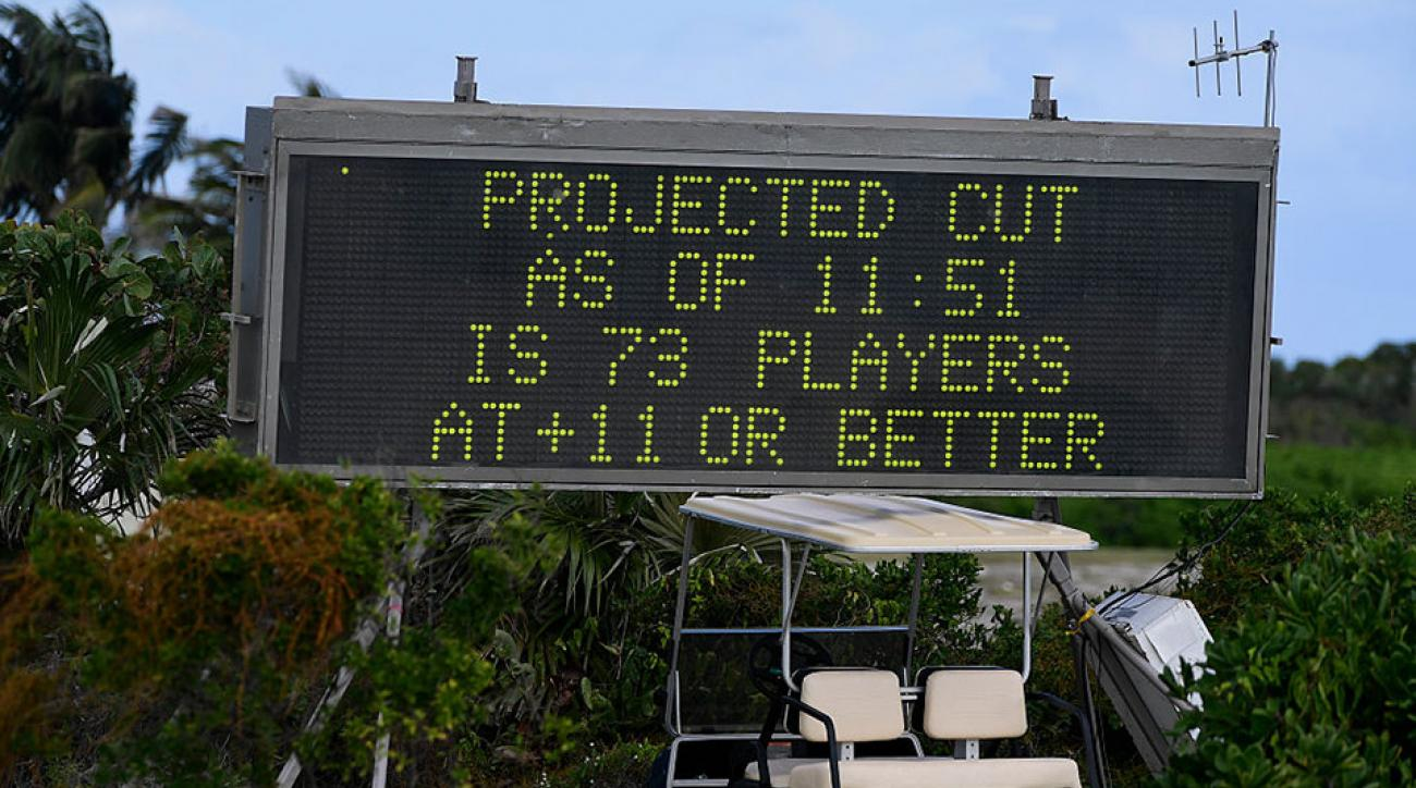 Players at this week's Bahamas Web.com Tour event struggled with 40 mph winds.