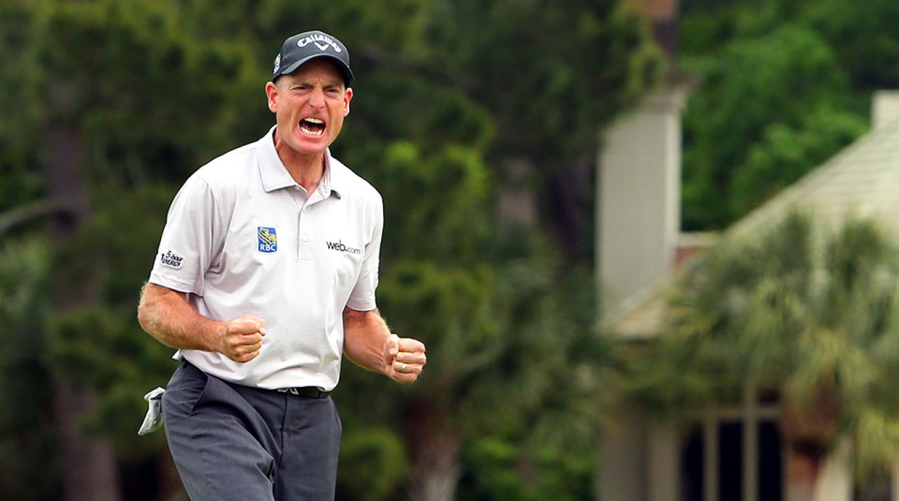It's time to celebrate: Jim Furyk has created a Twitter account.