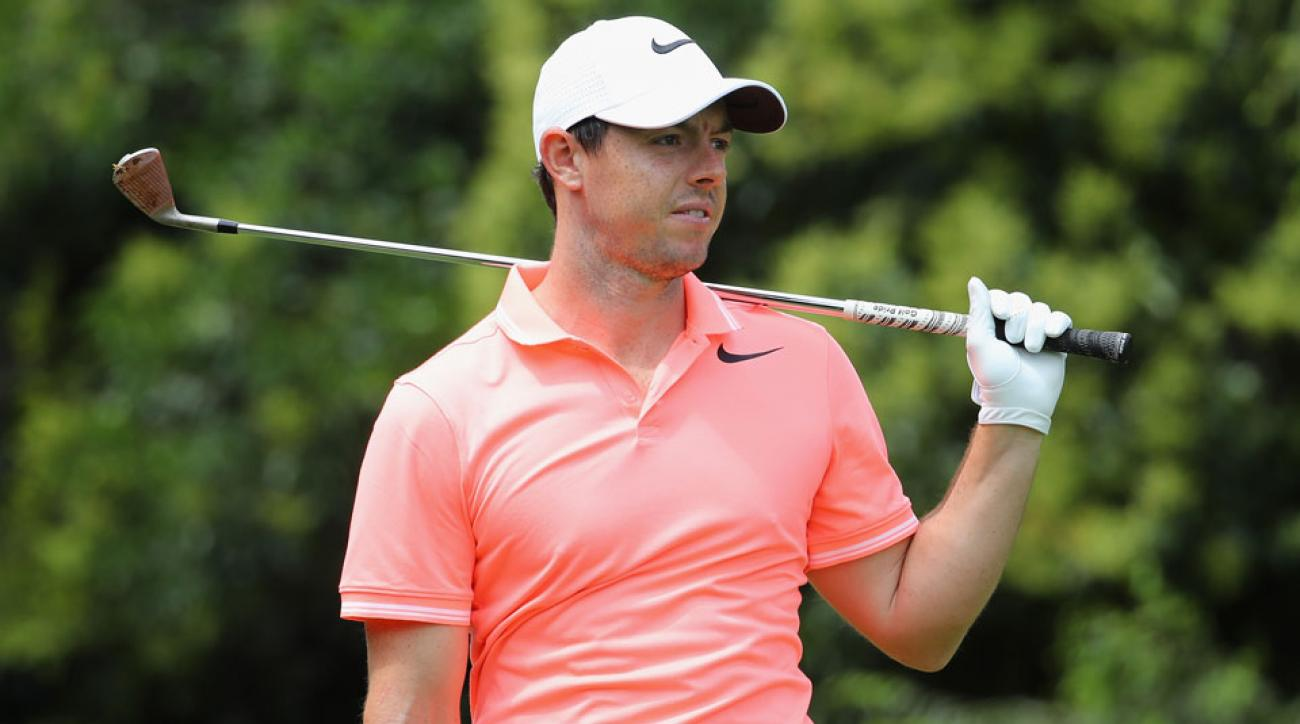 Rory McIlroy played through a rib injury at last week's South African Open.